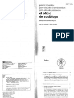 3. P. BOurdieu. Oficio Del Sociologo.(e Gris)