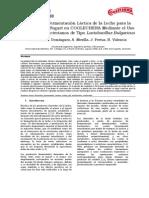 Proceso de Fermentación Láctica de la Leche para la Obtención de Yogurt en COOLECHERA Mediante el Uso de Cultivos Bacterianos de Tipo Lactobacillus Bulgaricus.docx