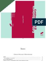 Catalogo Sintesis 2012