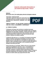 Os Fundamentos Da Medicina Ayurveda - Gilberto Coutinho - Partes 1 e 2[1]