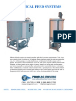 A&F Tank Chemical Feed System Brochure