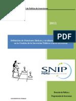 Funciones Basicas Alineamiento Estrategico de La Inversion Publica