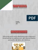 Propuesta Desarrollo organizacional