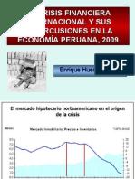 Crisis Financiera Internacional y RepercusionesPeru_EHB
