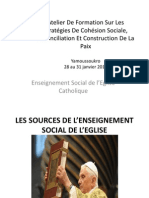 Enseignement Social de l'Eglise Catholique