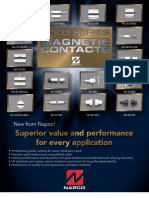NAPCO Gold Series Magnetic Contact