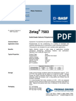 Chemicals Zetag DATA Beads Zetag 7583 - 0410