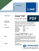 Chemicals Zetag DATA Beads Zetag 7587 - 0410