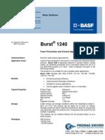 Chemicals Zetag DATA Burst 1240 - 0410