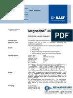 Chemicals Zetag DATA Beads Magnafloc 368 - 0410