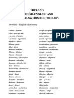 109962265 Freelang English Swedish and Swedish English Dictionary