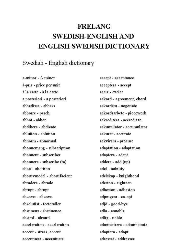 109962265 Freelang English Swedish and Swedish English Dictionary ... ca900f5e5eccc