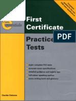 FCE TESTS