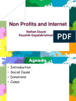 Internet and Not for Profit