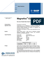 Chemicals Zetag DATA Inverse Emulsions Magnafloc E 30 - 0410
