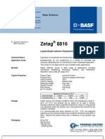Chemicals Zetag DATA Inverse Emulsions Zetag 8816 - 0410