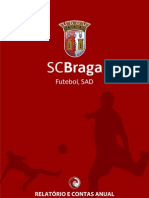 SC Braga (football section) Financial Report and Accounts 2012