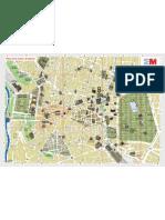 Plano Zona Centro de Madrid