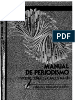 Manual de Periodismo Vicente Lenero