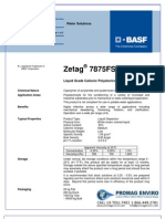 Chemicals Zetag DATA LDP Zetag 7875 FS 40 - 0410