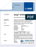 Chemicals Zetag DATA LDP Zetag 7878 FS 25 - 1110