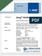 Chemicals Zetag DATA LDP Zetag 7879 FS 40 - 0410