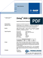 Chemicals Zetag DATA LDP Zetag 3930 - 1110