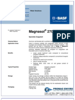 Chemicals Zetag DATA Magnasol 2705 G - 0410