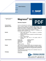 Chemicals Zetag DATA Magnasol 5605 G - 0410