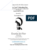 988a72b54fcb Écurie St Flor Package April 21 Schooling Day