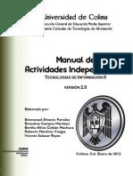 Tecnologías de Información II - Actividades Independientes v2.0