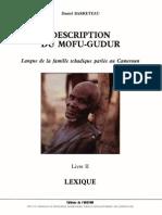 Description Mofu-Gudur - Lexique