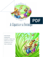 A cigarra e a formiga-História