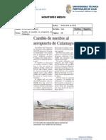 Informe de prensa semana del 04 al 12 de abril de 2013