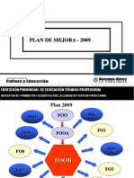Power Point Plan de Mejoras 2009