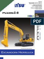 Excavadora PC220-8