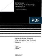 Multivariable Process Identification for Robust Control