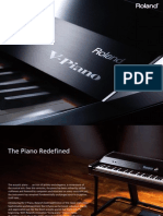 V Piano Brochure