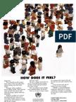 Lego Refugee UNHCR Advert 2