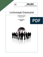 Apostila Comunicação Empresarial - versão 4
