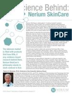 science behind nerium skincare