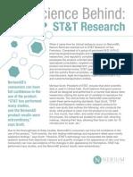 science behind stt final