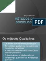 Métodos da sociologia