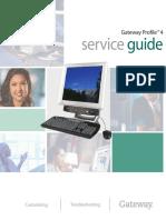 Gateway Profile 4 Service Manual