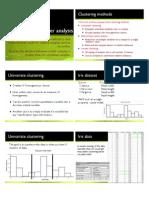 10 Cluster Analysis