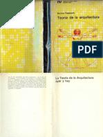 Teoria de La Arquitectura Enrico Tedeschi