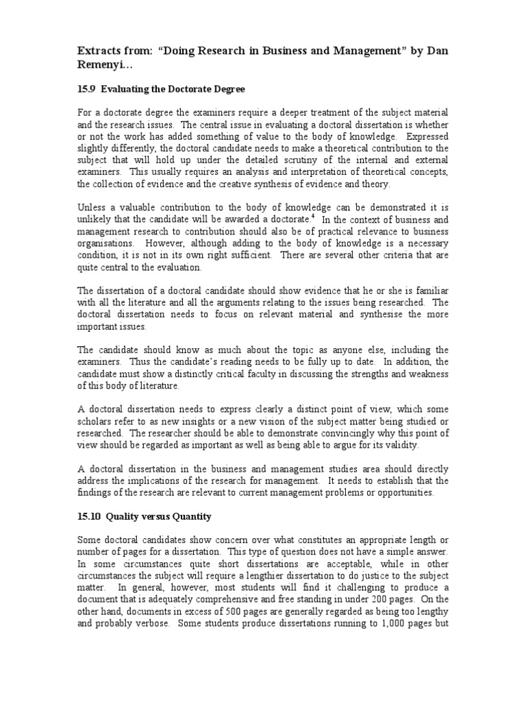 Dissertation Topics In Management -   TopicsMill