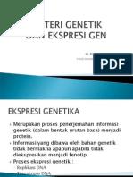 Materi Genetik Dan Ekspresi Gen