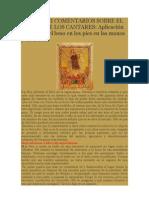 SERMÓN III DEL CANTAR DE LOS CANTARES