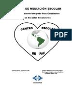 Manual de Mediacion en Espanol Revised on August 3-2012